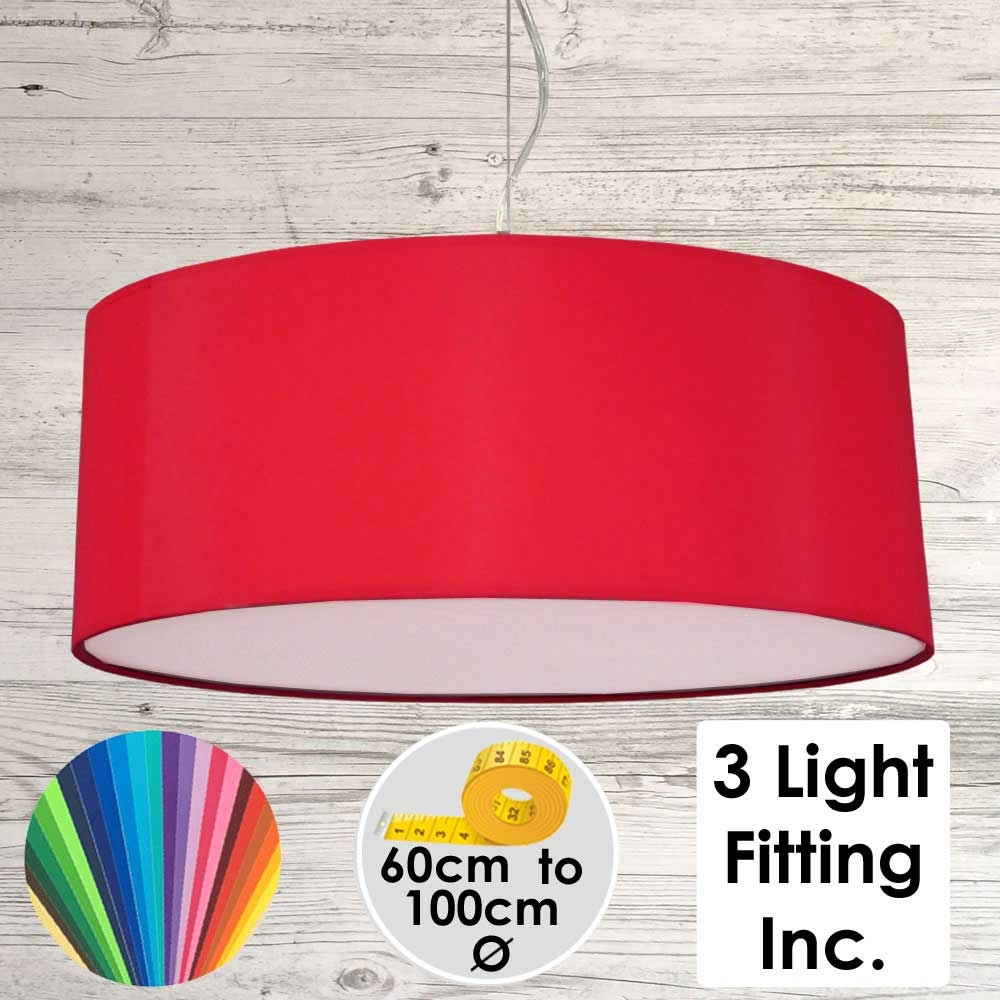 Red Drum Ceiling Light